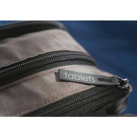 Adapt Convertible Checkpoint-Friendly Compu-Bag for Advertising