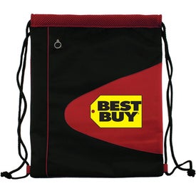 Air Mesh and Microfiber Cinch Bag Drawstring Backpack for Your Church