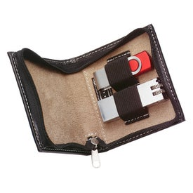 Imprinted Alicia Klein USB Flash Drive Travel Case
