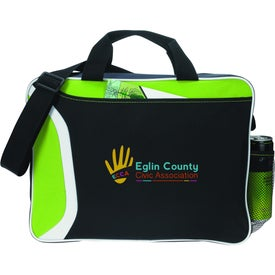 All Day Computer Briefcase Imprinted with Your Logo