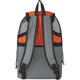 Imprinted All-In-One Beach Backpack