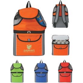 All-In-One Beach Backpack with Your Slogan