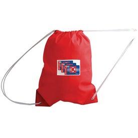 Advertising All-Purpose Cinch Bag Drawstring Backpack
