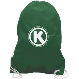 All-Purpose Cinch Bag Drawstring Backpack with Your Slogan