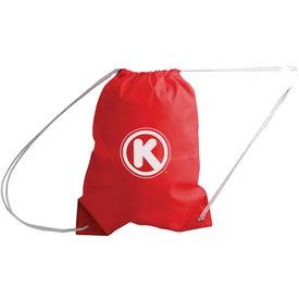 Logo All-Purpose Cinch Bag Drawstring Backpack