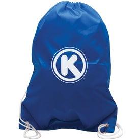 Imprinted All-Purpose Cinch Bag Drawstring Backpack
