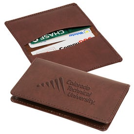Imprinted Alpine Card Case