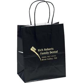 Monogrammed Amanda Gloss Shopper Bag