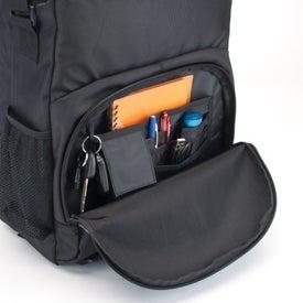 Monogrammed Amsterdam Laptop Messenger Mate Bag