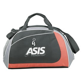 Angle Sport Duffel Imprinted with Your Logo