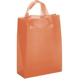 Apollo Frosted Brite Shopper Bag for Marketing