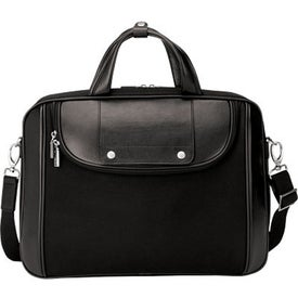 Arezzo Black Nylon Luccahyde Briefcase with Your Logo