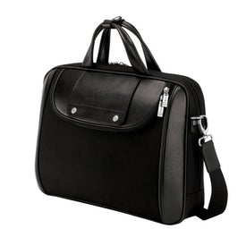 Promotional Arezzo Black Nylon Luccahyde Briefcase