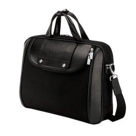 Promotional Arezzo Black Nylon Luccahyde Briefcase