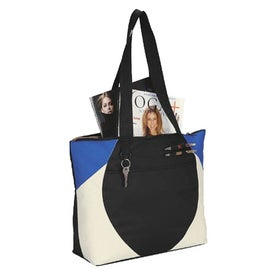 Monogrammed Asher Meeting Tote Bag