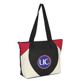 Branded Asher Meeting Tote Bag