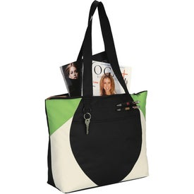 Asher Meeting Tote Bag Printed with Your Logo