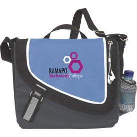 Promotional A Step Ahead Messenger Bag