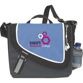 Promotional A Step Ahead Messenger Bag