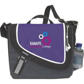 Personalized A Step Ahead Messenger Bag
