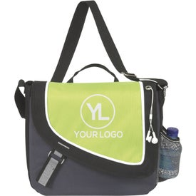 A Step Ahead Messenger Bag