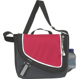 A Step Ahead Messenger Bag for Marketing