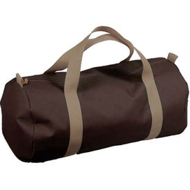 Athletic Duffel Imprinted with Your Logo