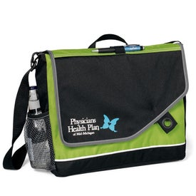 Attune Messenger Bag II Branded with Your Logo