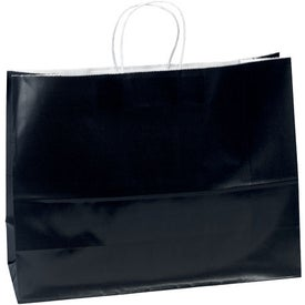Promotional Aubrie Gloss Shopper Bag