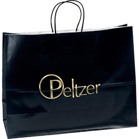 Aubrie Gloss Shopper Bag (Color)