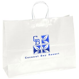 Aubrie Gloss Shopper Bag for Advertising