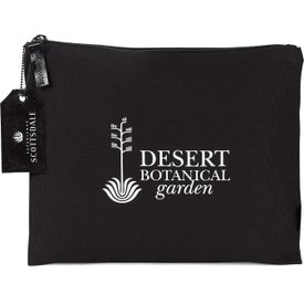 Avery Large Cotton Zippered Pouch