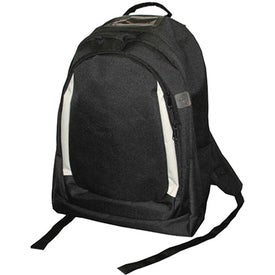 Backpack with Hidden MP3 Player Pocket for your School