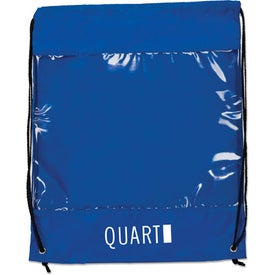 Backpack with Clear Safety Window for Promotion
