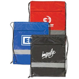 Backpacks with Reflective Safety Stripe