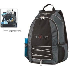 Monogrammed Base Jump Computer Backpack