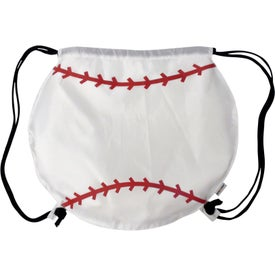 Baseball Drawstring Backpacks