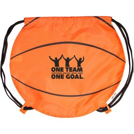 Basketball Drawstring Backpacks