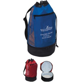Beach Bag with Insulated Lower Compartments