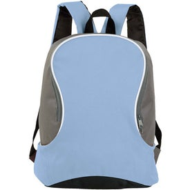 Advertising Bi Colored Backpack