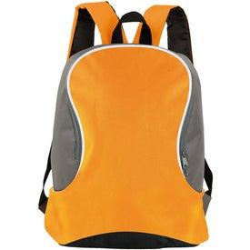 Customized Bi Colored Backpack