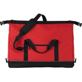 Big Clip Duffel Bag Imprinted with Your Logo