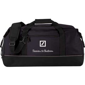 Branded Big Clip Duffel Bag