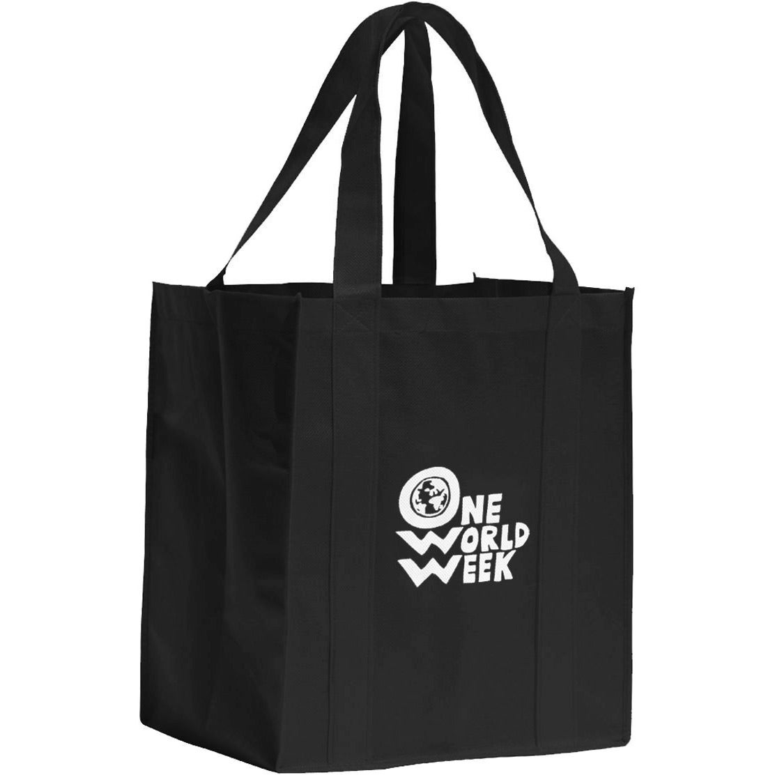 promotional big shopper grocery bags with custom logo for 1 16 ea