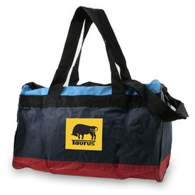Two Tone Black Duffel for your School