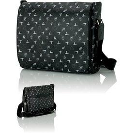 Lamborghini Black Shoulder Bag