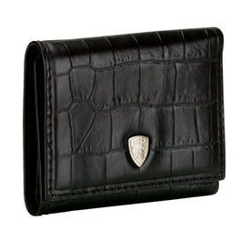 Crocodile Black Wallet Printed with Your Logo