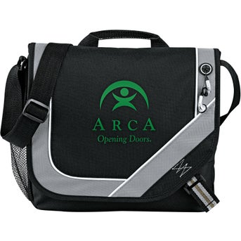 Promotional Bolt Urban Messenger Bags with Custom Logo for $4.60 Ea.