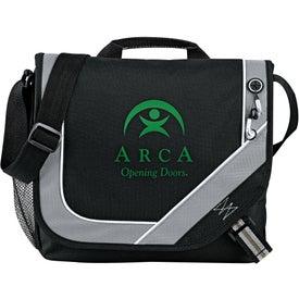 Branded Bolt Urban Messenger Bag