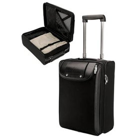Bolzano Nylon Luccahyde Trolley Case (Black)